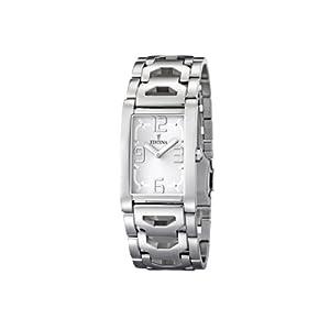 Reloj de mujer FESTINA F16464/2 de cuarzo, correa de acero inoxidable color plata de Festina
