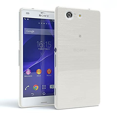 Sony Xperia Z3 Compact Hülle - EAZY CASE Brushed Cover TPU Handyhülle - Schutzhülle aus Silikon in