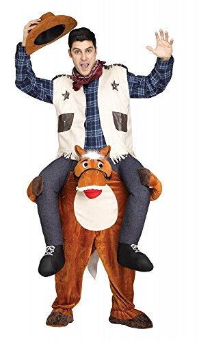 kepack Kostüm Aufsitz Reiter JGA Junggesellenabschied, Variante:Pferd (Pferd Und Reiter Kostüme Für Halloween)