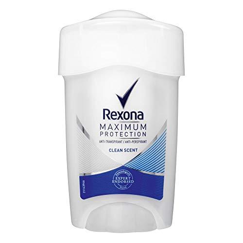 Rexona Maximum Protection Clean Scent Anti-Transpirant, Damen Deo Cremestick, 3er pack (3 x 45 ml)