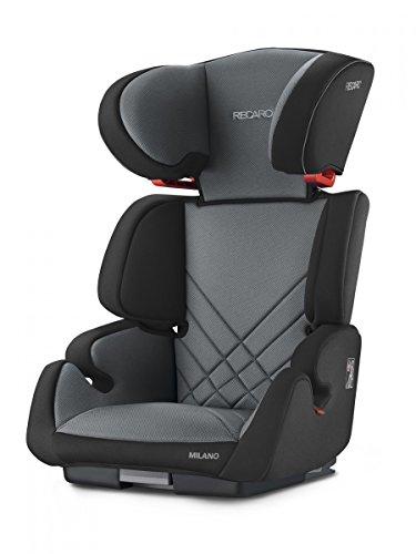 Recaro 4031953070570 Kinderautositz Milano Seatfix, schwarz