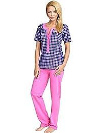 Be Mammy Mujer Lactancia Pijamas Dos Piezas Edith