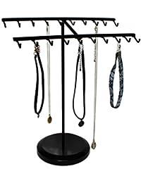Présentoir à Bijoux 38 cm Métal Crochet Organisateur par Kurtzy - Parfaits pour Suspendre les Bracelets, Colliers, Bagues et Bien Plus Encore - Excellent Cadeau pour les Femmes et les Hommes