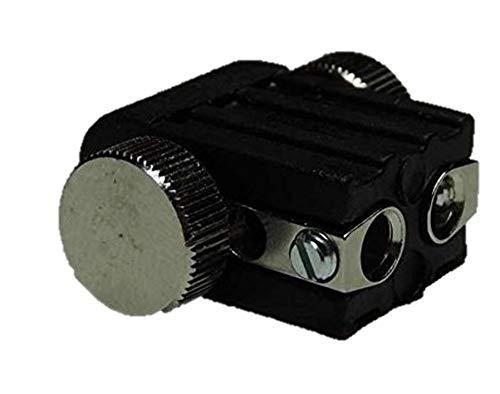 8xLed Fassung Lampenhalter Lampenfassung für GX5,3 Led oder Halogen schwarz