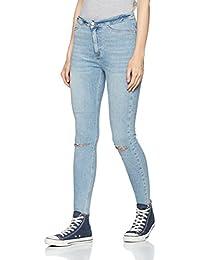 New Look Disco Fray Hem, Jeans Skinny Femme