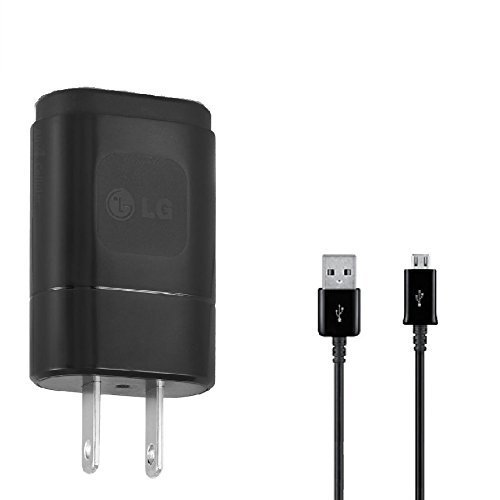 Xiaomi OEM Redmi 4 Prime Compact 1.8A Wall Charger with 3ft MicroUSB Charging and Data Cable! (Black / 110-240v)