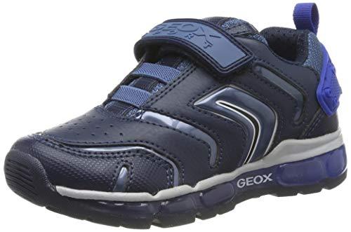 Geox J Android Boy B, Zapatillas para Niños, Azul (Navy/Royal C4226), 26 EU