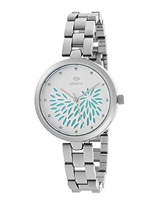 Reloj Marea Analógico Mujer B41243/4 Armis Acero y Esfera Verde