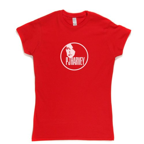 PJ Harvey Womens Fitted T-Shirt Rot