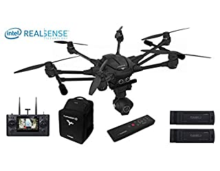 YUNEEC Typhoon H Pro mit Intel RealSense Technologie Hexakopter (CGO3 plus Kamera 12 MP, 4K UHD Videofunktion, 17,8 cm (7 Zoll) Touchscreen, Intel-Prozessor) schwarz (B01D58E4PU) | Amazon Products