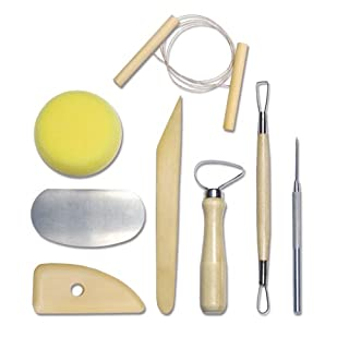 Royal & Langnickel RSET-POT1 Complete Pottery Tool Set (8 Piece)