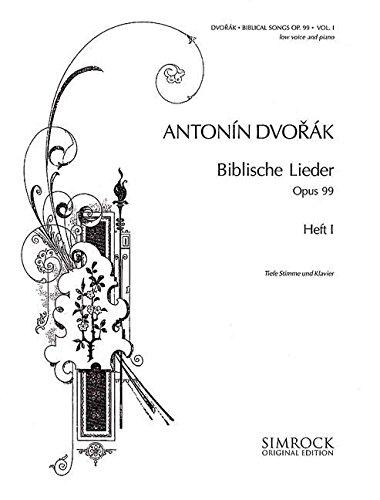Biblische Lieder Op. 99 Band 1