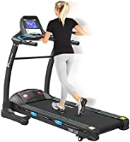 Powermax Fitness TDM-110 2 HP (4 HP Peak) Motorized Treadmill - Free Installation Service - 3 Years Motor Warr