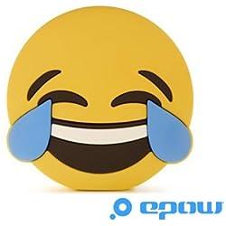 EPOW® Batería Externa Emoji Smiley LOL 2600 mAh, Batería portátil emoticone Fun Idéale Pokemon Go, Cargador Externo Power Bank para iPhone, Samsung, compatible con todos los Smartphones