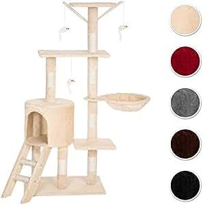 tectake arbre chat griffoir grattoir diverses couleurs. Black Bedroom Furniture Sets. Home Design Ideas
