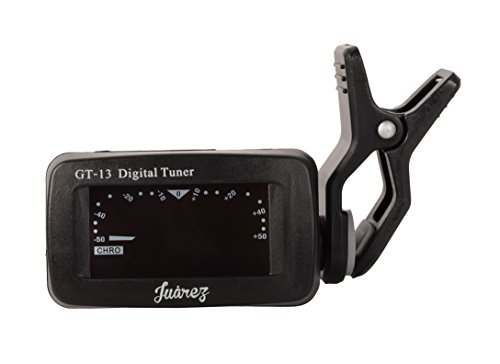Juarez GT-13 Digital LCD Guitar Bass Violin Ukulele Clip On Automatic Chromatic Tuner