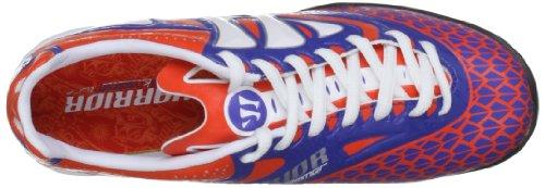 Skreamer Combat TF Enfants - Chaussures de Foot Orange Epicé/Bleu Orange (Spicy Orange/Baja Blue/White)