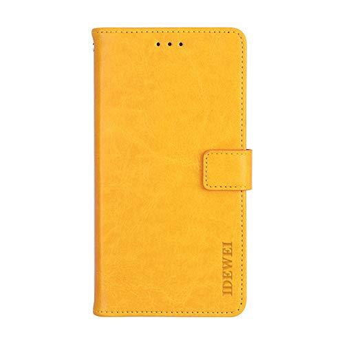 Manyip Hülle für Lenovo A5000,Handyhülle Lenovo A5000,TPU-Schutzhülle mit [Aufstellfunktion] [Kartenfächern] [Magnetverschluss] Brieftasche Ledertasche für Lenovo A5000