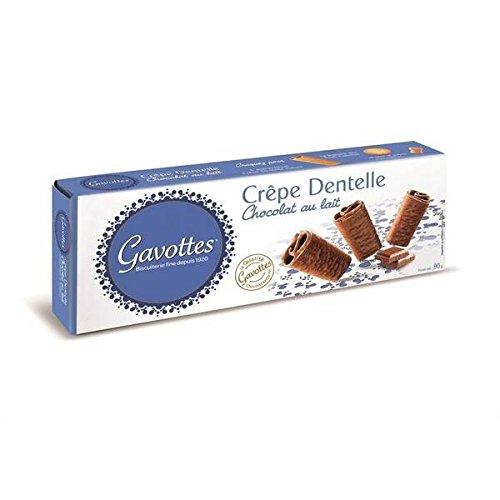 Gavottes crêpe dentelle chocolat au lait 90g - ( Prix Unitaire ) - Envoi Rapide Et Soignée