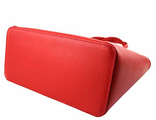 G&G PELLETTERIA , Sac pour femme à porter à l'épaule rouge