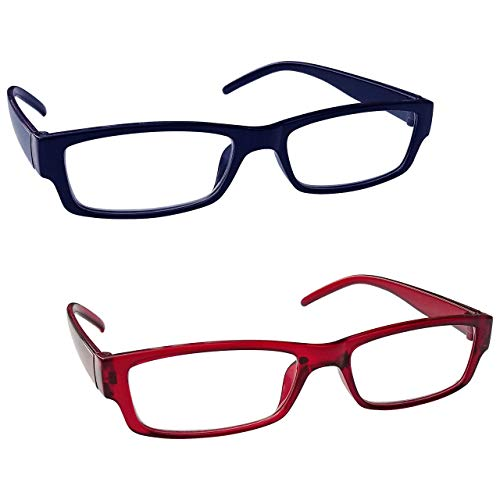 lente trasparente Cerniera a molla leggera MODFANS Confezione da 3 occhiali da lettura 2.0 per donna