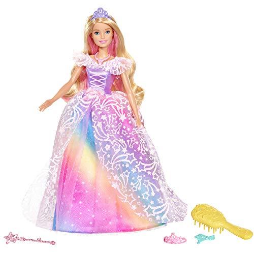 Barbie- Dreamtopia Principessa Gran Galà Bambola con Accessori, Giocattolo per Bambini 3+ Anni, GFR45