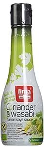 Lima Bio Sauce Soja Coriandre & Wasabi 200 ml - Lot de 3