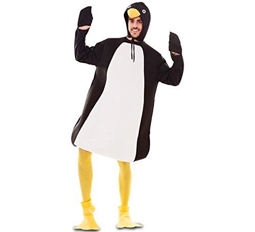 Fyasa 706122-t04Pinguin Kostüm, groß (Pinguin Füße Kostüm)
