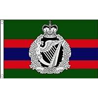 Royal reggimento Irlandese militare 1,5x 0,9m (150x 90cm) Bandiera tasto + 59mm Spilla - Colori Bandiera Irlandese