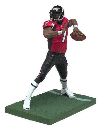 Michael Vick #7 Red Jersey Variant Chase McFarlane NFL Series 7 Six Inch Action Figure by Unknown Michael Vick, Nfl