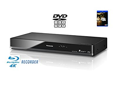 Panasonic DMR-BWT850 (Multiregion DVD player) Smart Network 3D Blu-ray DiscTM Recorder with Twin HD Recorder - 4K Upscaling & Recording etc.