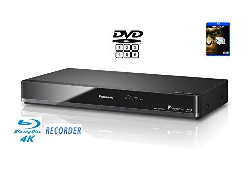 Panasonic DMR-BWT850 (Multiregion DVD player) Smart Network 3D Blu-ray DiscTM Recorder with Twin HD Recorder - 4K Upscaling & Recording etc.