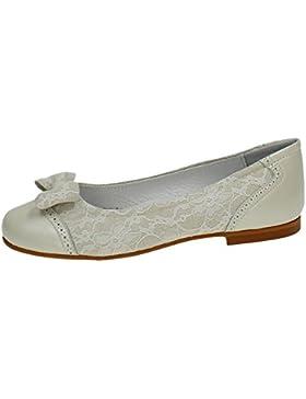 PUERTORREY 3090 Manoletinas DE Piel Niña Zapato Comunión