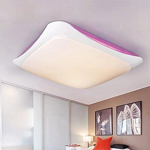 Piccolo giro maschera acrilico soffitto del salotto camera da letto den balcone lampade a risparmio (Oggi Acrilico)