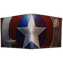 Marvel Captain America cartera doble pliegue