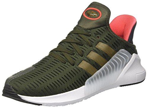adidas Climacool 02/17, Zapatillas de Gimnasia para Hombre, Verde (Night Cargo F15/trace Olive F17/ftwr White), 41 1/3 EU