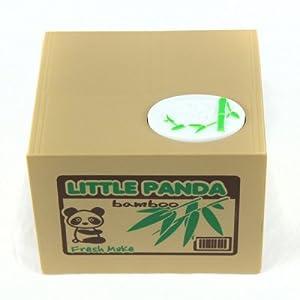 WayIn® Robótica Robar dinero Panda Moneda del Banco de Gran embroma el regalo de WayInn
