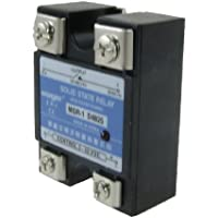 25 A Amps Single Phase SSR Solid State Relé 24 – 480 V AC