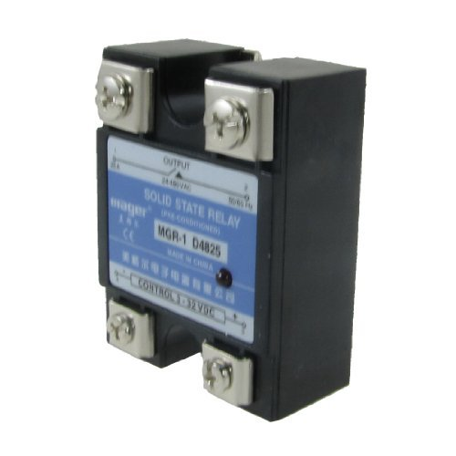 25A Amps Single Phase SSR Solid State Relais 24-480V AC