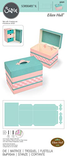 Sizzix Box Treasure Fustella, Multicolore, taglia unica - 3