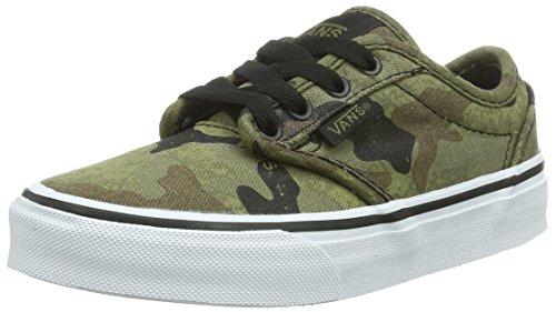 Vans Y ATWOOD Unisex-Kinder Sneakers Mehrfarbig ((Camo) army/bla / DD1)