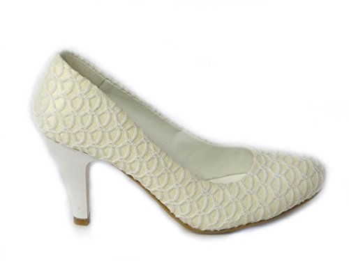 SKO'S , Mary Janes pour femme Ivoire - Off White