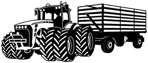Pared Adhesivo Gran tractor colgante tractor habitación