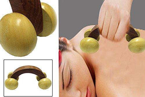 Le Massager en bois se compose de bois Shisham par Great Articians de Sarangpur Inde, Massager Retour en bois,Cadeau de votre Saint-Valentin le jour spécial