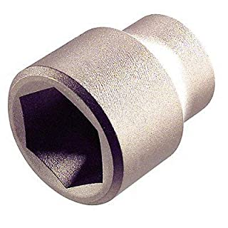 Ampco Safety Tools SS-3/4D33MM Socket, Standard, Non-Sparking, Non-Magnetic, Corrosion Resistant, 3/4