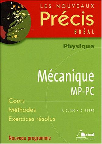 Physique Mécanique MP-PC