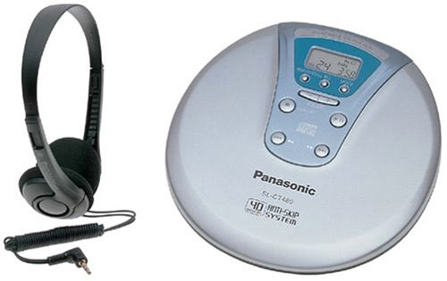 Panasonic SL-CT480EG-S tragbarer CD-Player Silber