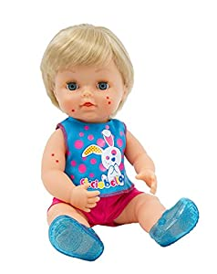 Ciccio Bello 70160011Spotty muñeca 30cm función muñeca
