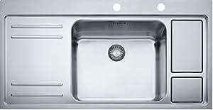Franke Küchen-Spüle Larco Work-Center LAX 211-W-45 (127.0339.316) - Edelstahl