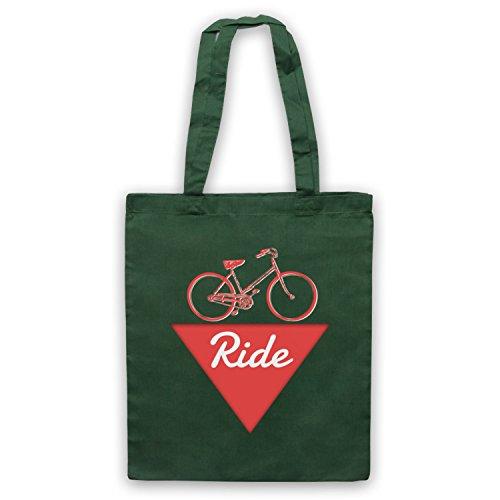 Ride Bike Fanatic Umhangetaschen Dunkelgrun
